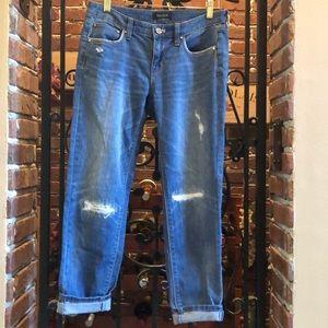 Girlfriend style jeans